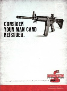 A Real Ad from Bushmaster Firearms, copped from Upworthy.com.