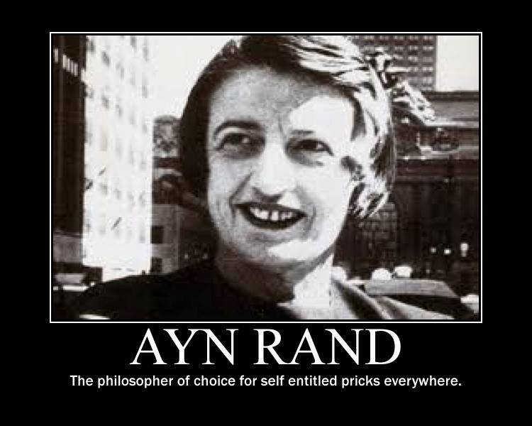 Ayn Rand will have you thinking about the social role of business and enterprise in society.