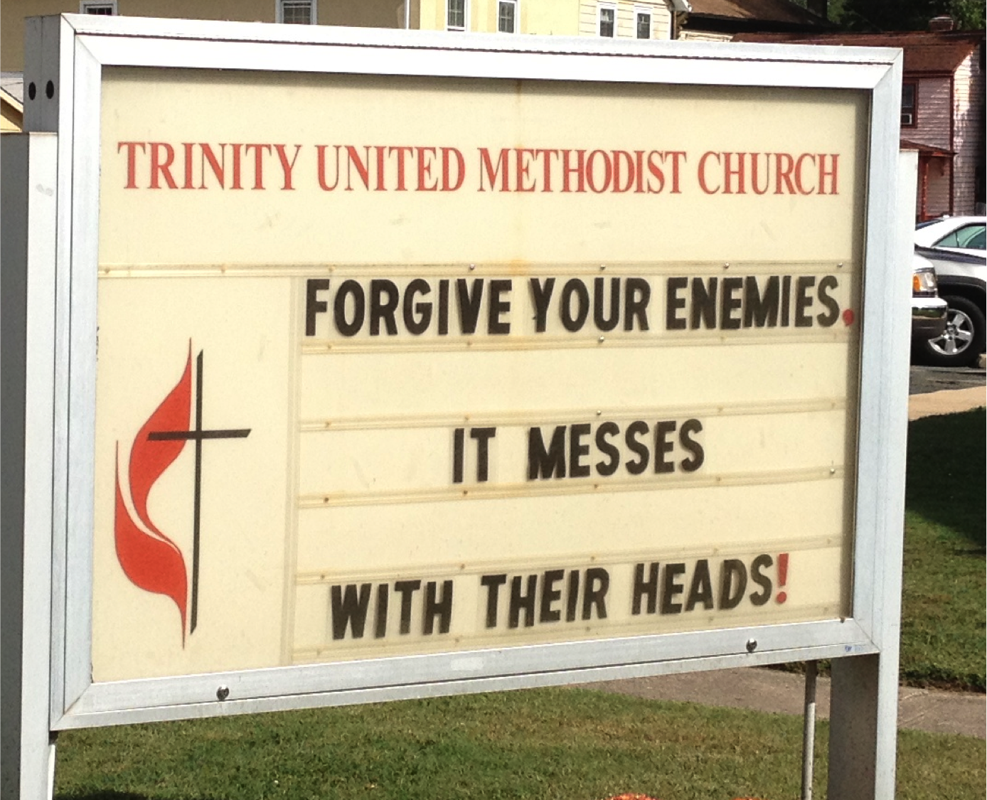 Church Sign Sayings Quotes