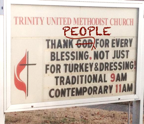 churchsignthankpeople