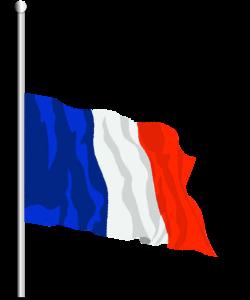 frenchflaghalfmast